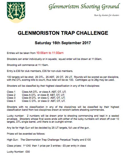 Trap Challenge 2017