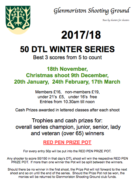 DTL Winter Series 2017:18