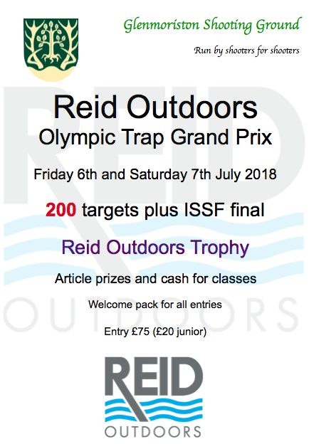 Reid Outdoors GP 2018