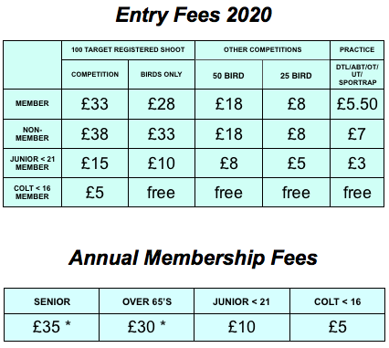 2020 Fee Poster